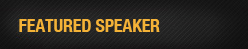 Featured Speaker